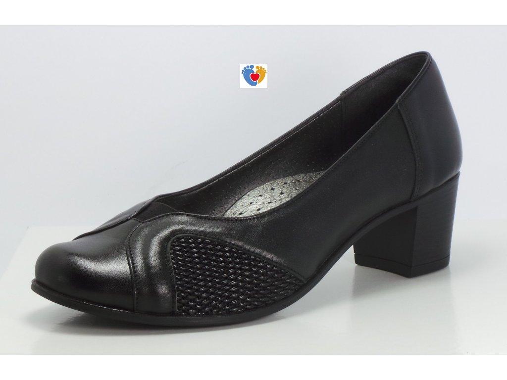 Dámska obuv na hallux EV-088B/1320 ČIERNA