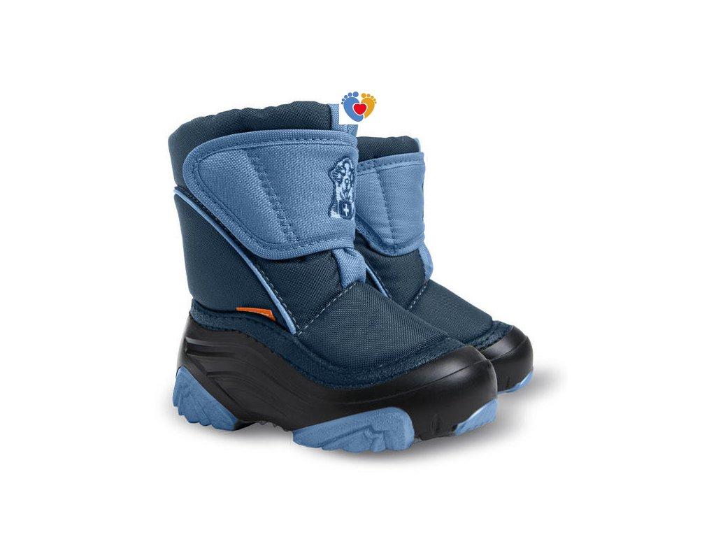 Detské zimné snehule DEMAR-DOGGY 2 4021 D blue