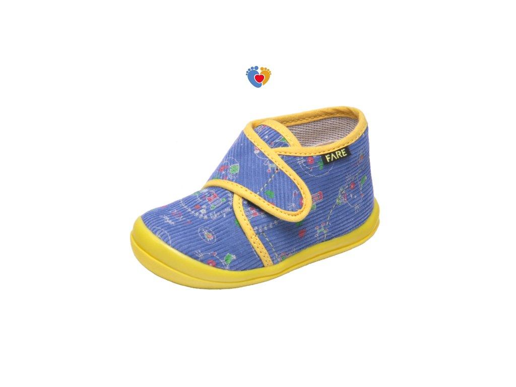 dbcc69f0162f Detské papuče FARE 4012406 - Centrum zdravých nôh