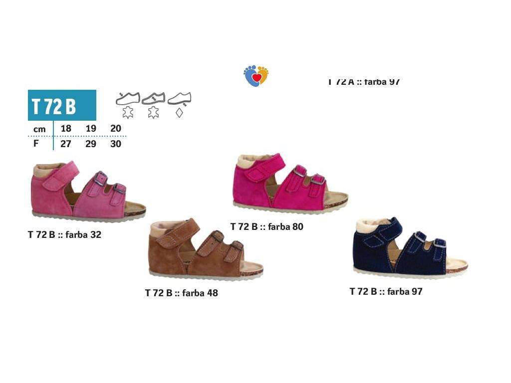 7344f0807e PROTETIKA detské ortopedické sandále Typ 72B - Centrum zdravých nôh