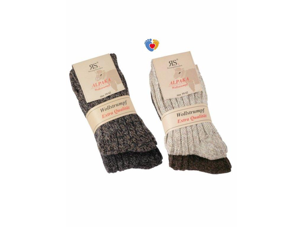 86ac732deaff Unisex vlnené ponožky Alpaka