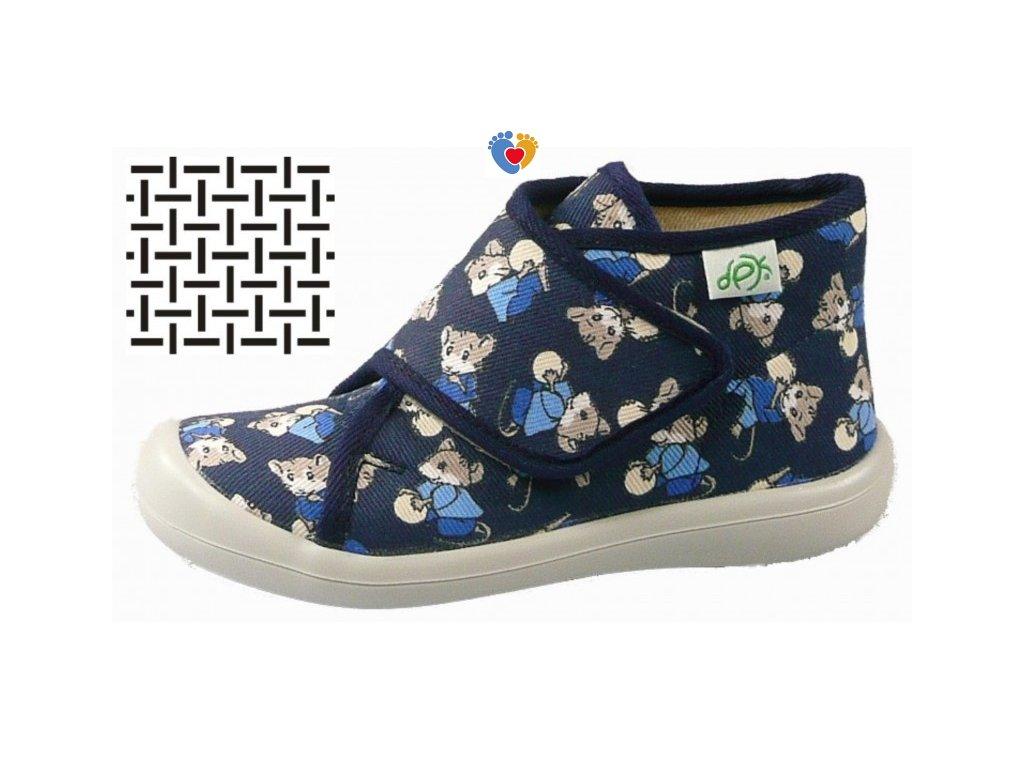 Detské papuče DPK K51018-PAP-W-K-AS-0803