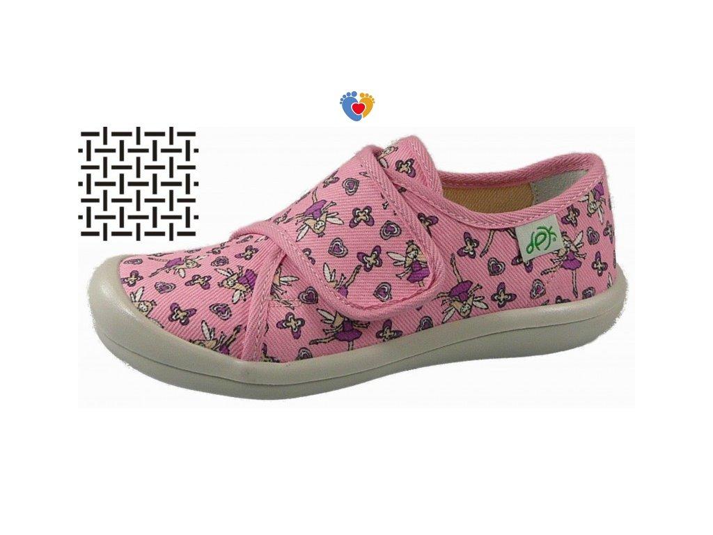 Detské papuče DPK K57005-AS-0511