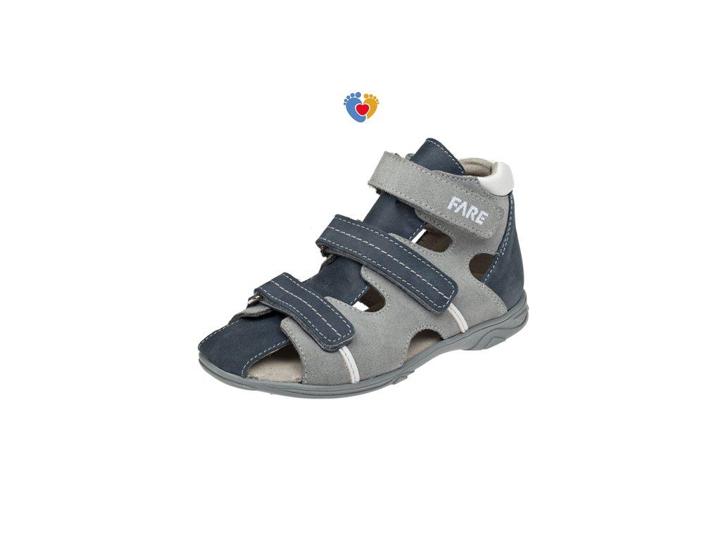 e19136ecdfa6 Detské sandálky FARE 1762101 - Centrum zdravých nôh