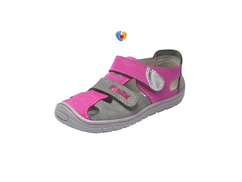 Detské barefoot sandále FARE BARE 5161291