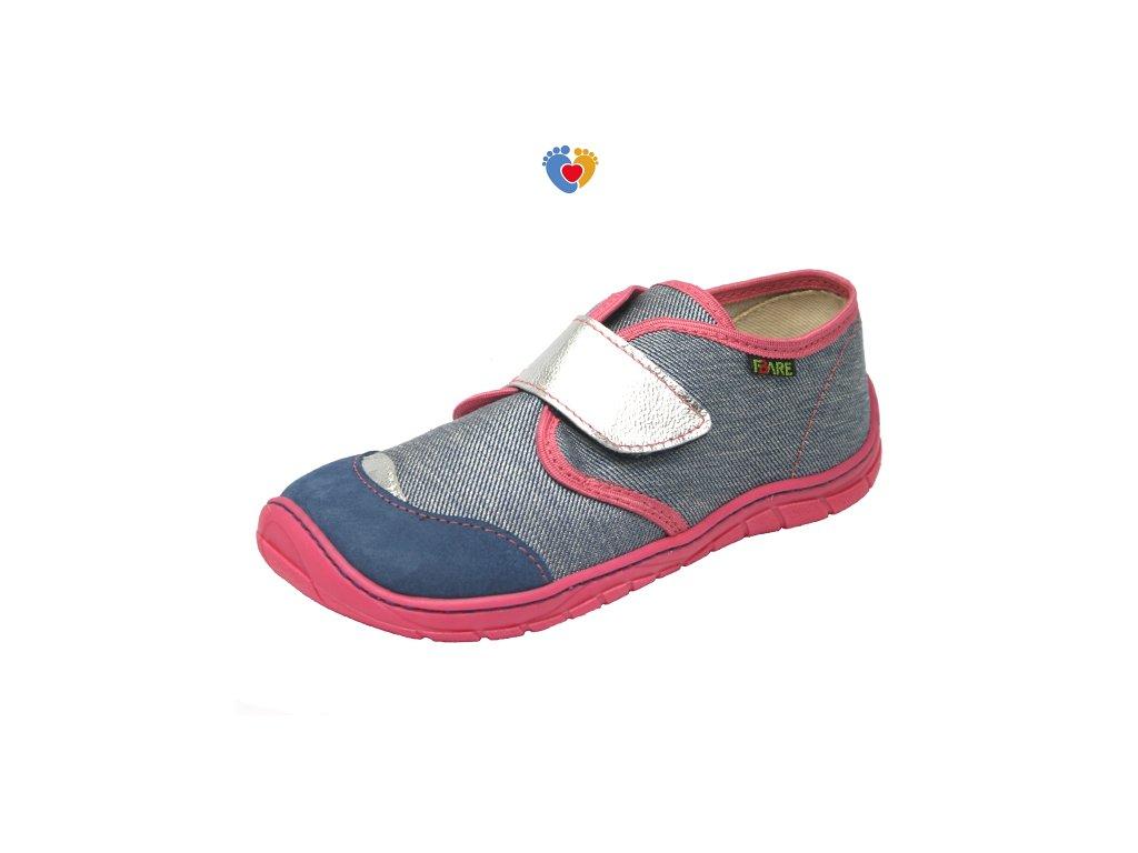Detské barefoot tenisky FARE BARE 5211461