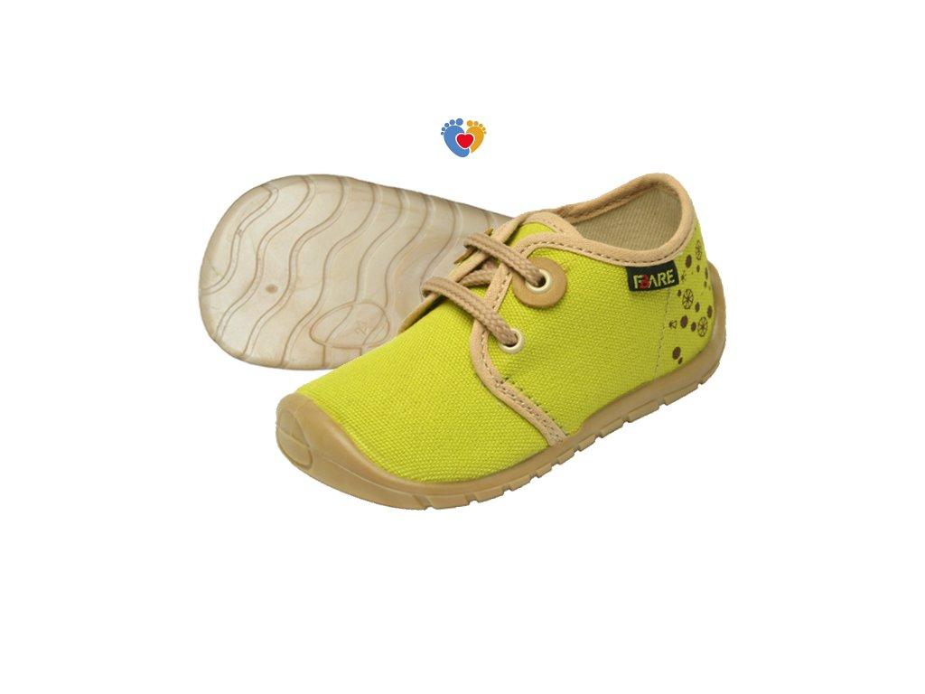 Detské barefoot tenisky FARE BARE 5011431
