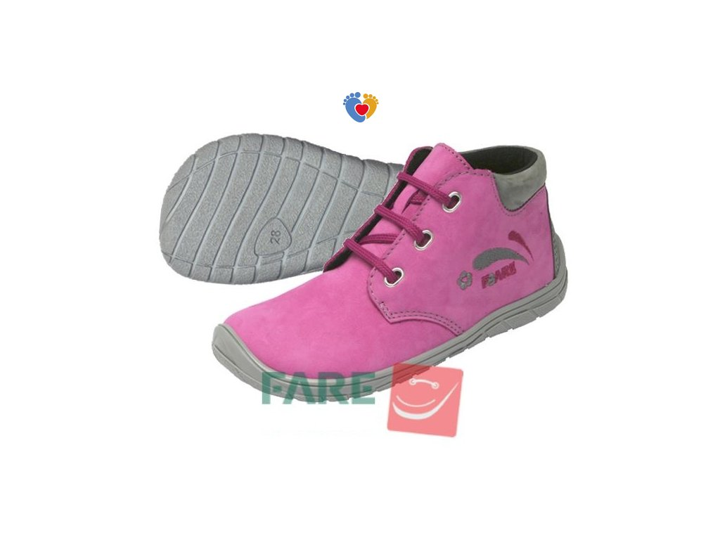 Detské barefoot topánky  FARE BARE 5221251