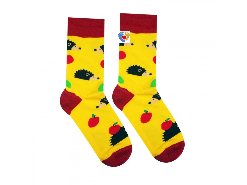farebne bavlnene ponozky jezko hesty socks