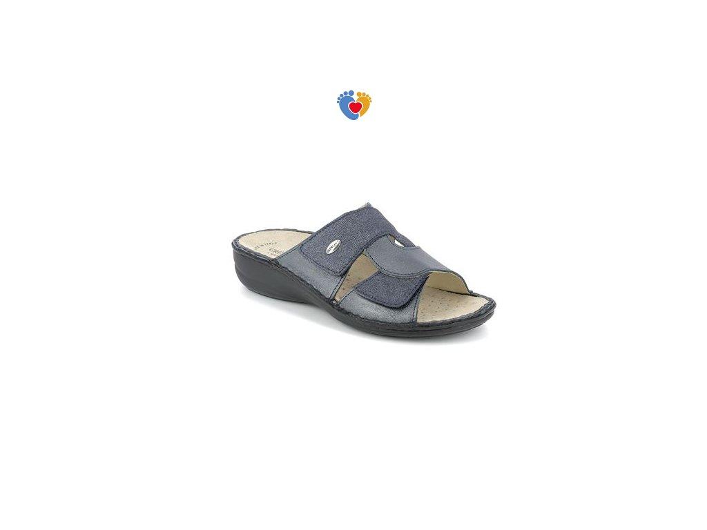 sandal donna leather blu 40 gradi (1)