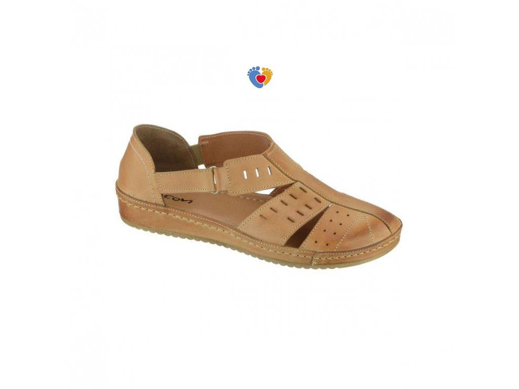 d2bcee36037a Dámska zdravotná obuv PEON KA 131-8S - Centrum zdravých nôh