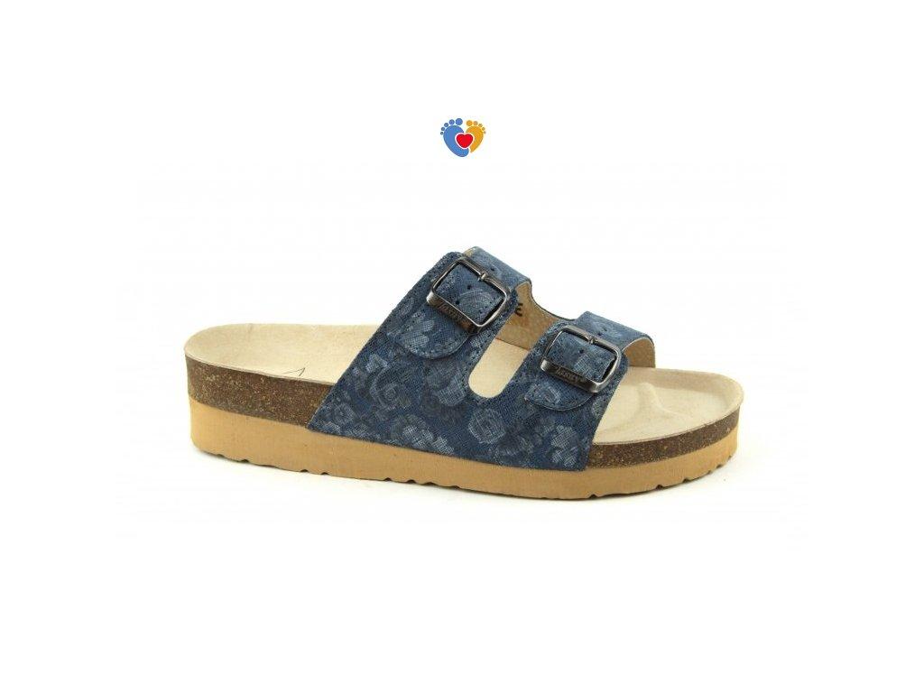 6dc85a3f46ae9 JASNY ortopedická obuv CLASSIC 2002/PK2 blue garden - Centrum ...