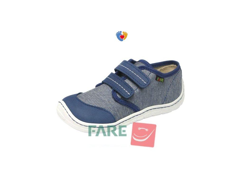 Detské barefoot tenisky FARE BARE 5211403