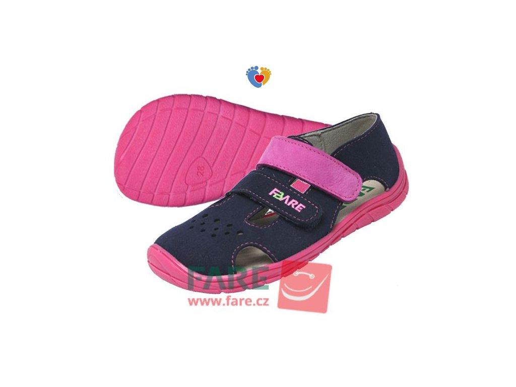 Detské barefoot sandále FARE BARE 5262251