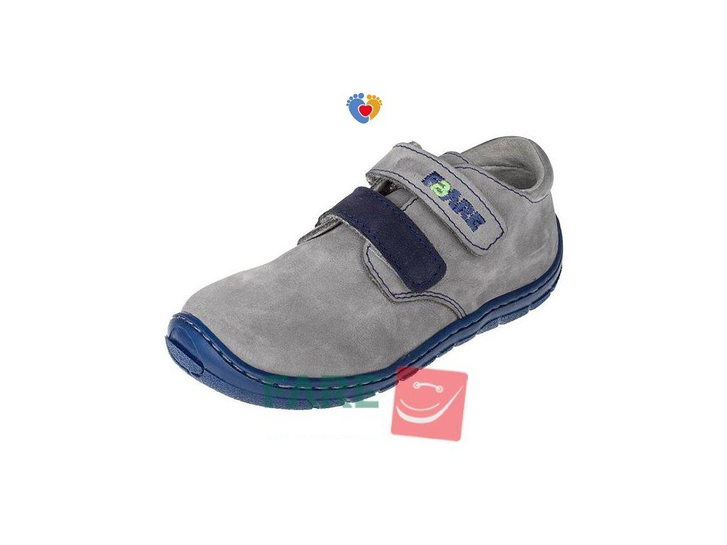 Detské celoročné barefoot topánky FARE BARE 5113261