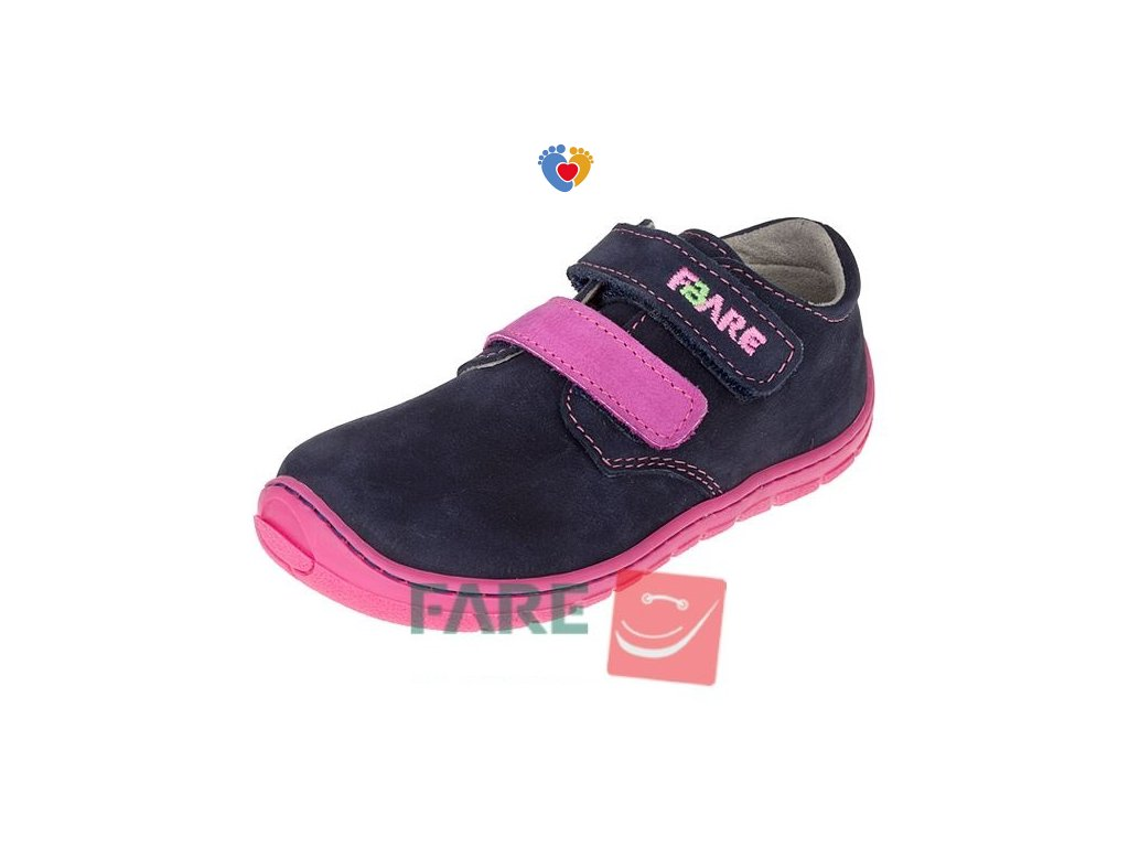 Detské celoročné barefoot topánky FARE BARE 5113251