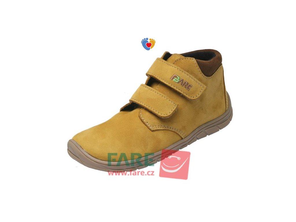 Detské celoročné barefoot topánky FARE BARE A5221281