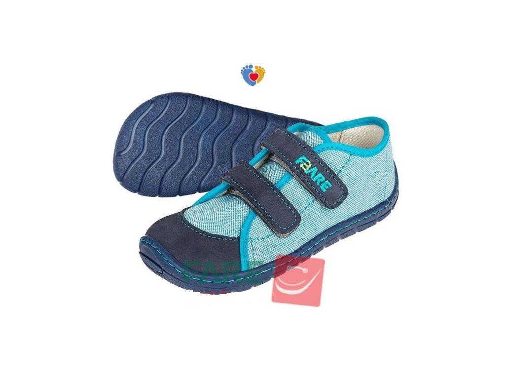 Detské barefoot tenisky FARE BARE 5115401