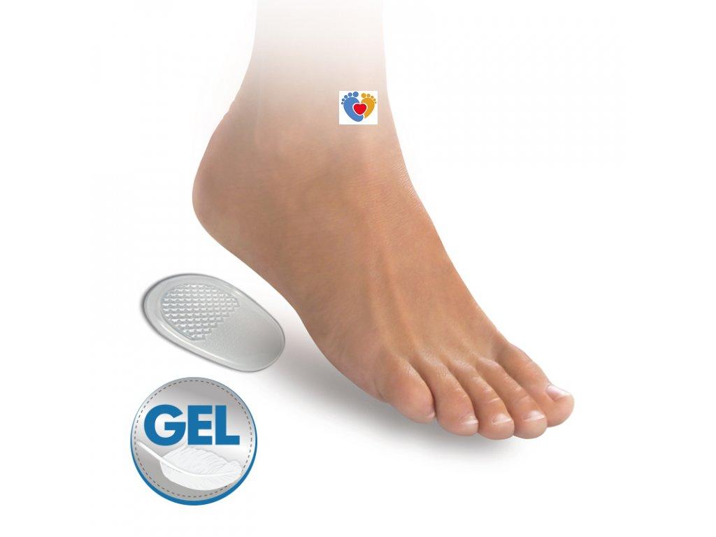 self adhesive gel heel cushiones