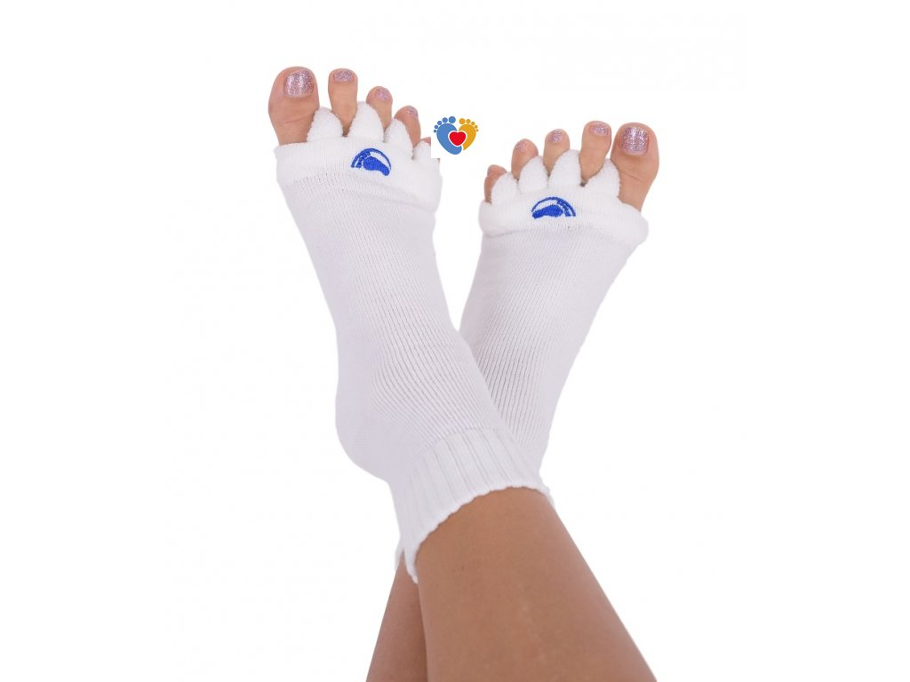 Adjustačné ponožky® OFF WHITE  ortopedické ponožky