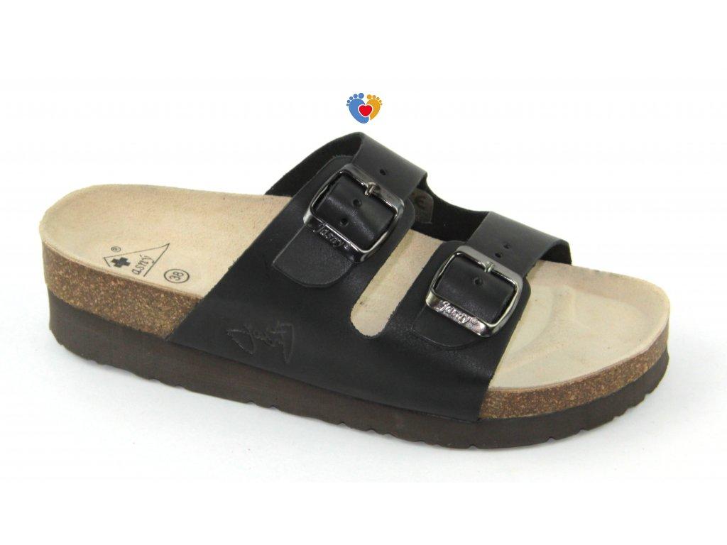 JASNY ortopedická obuv CLASSIC 2002/PK2 čierna