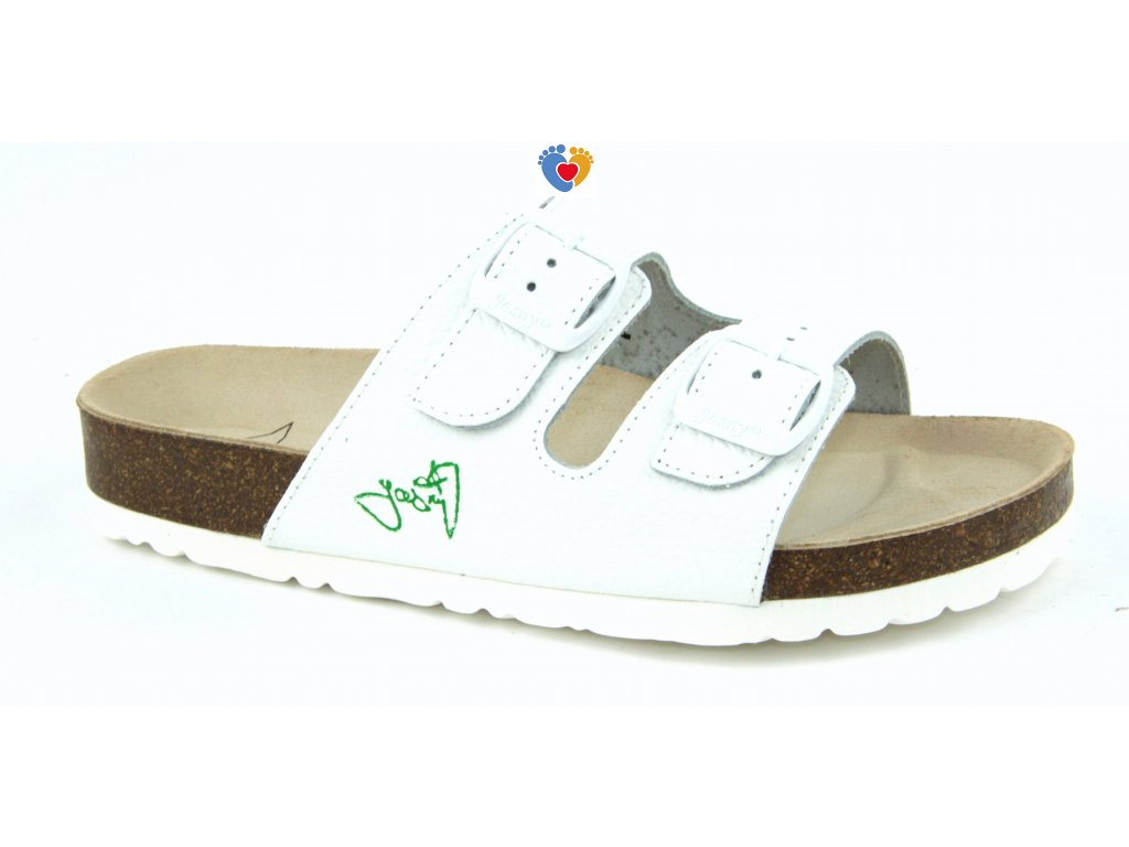 JASNY ortopedická obuv CLASSIC 2002/PR2 biela
