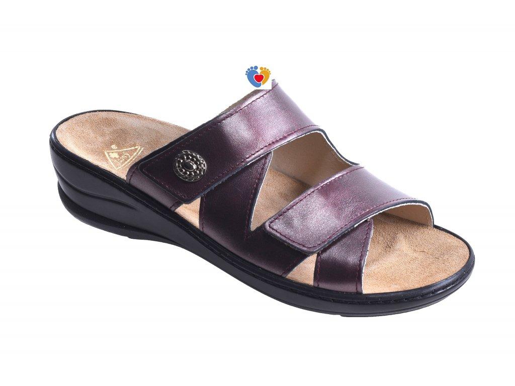 Dámska zdravotná obuv JASNY MC-SAMANTHA Queen fialová