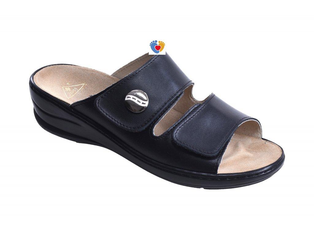Dámska zdravotná obuv JASNY MC/MIRANDA čierna