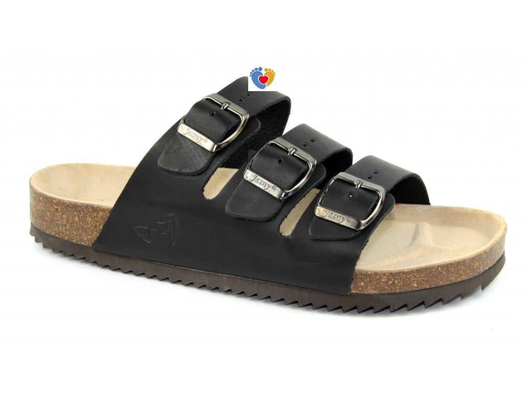 JASNY ortopedická obuv CLASSIC 2002/PR3 čierna