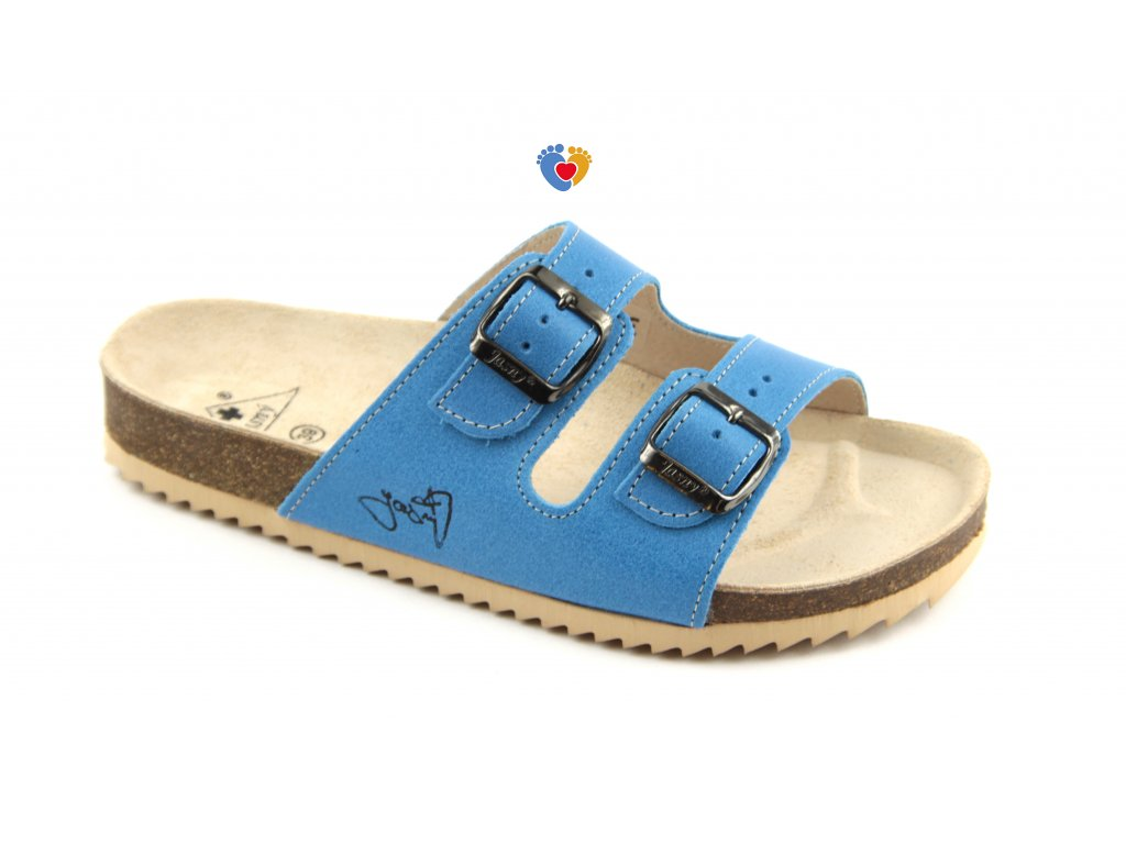 JASNY ortopedická obuv CLASSIC 2002/PR2 modrá