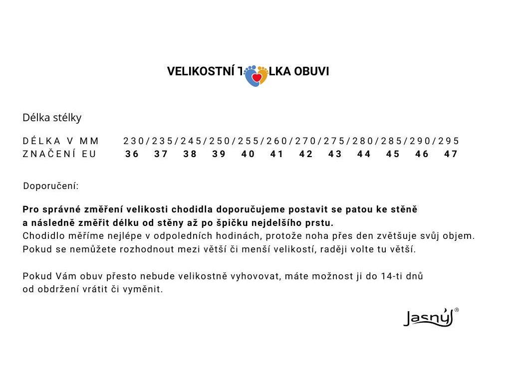 JASNY zdravotná obuv TINA ČERVENÁ