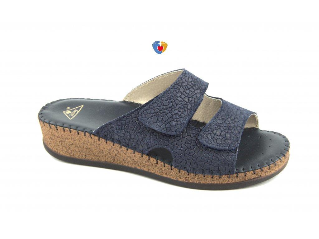 Dámská zdravotná obuv JASNY EMANUELLE blue