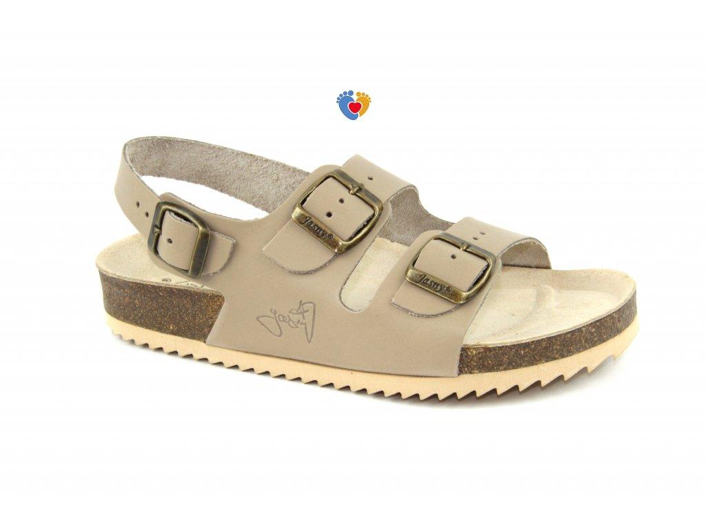 JASNY ortopedické sandále CLASSIC 2002/SR2 béžová