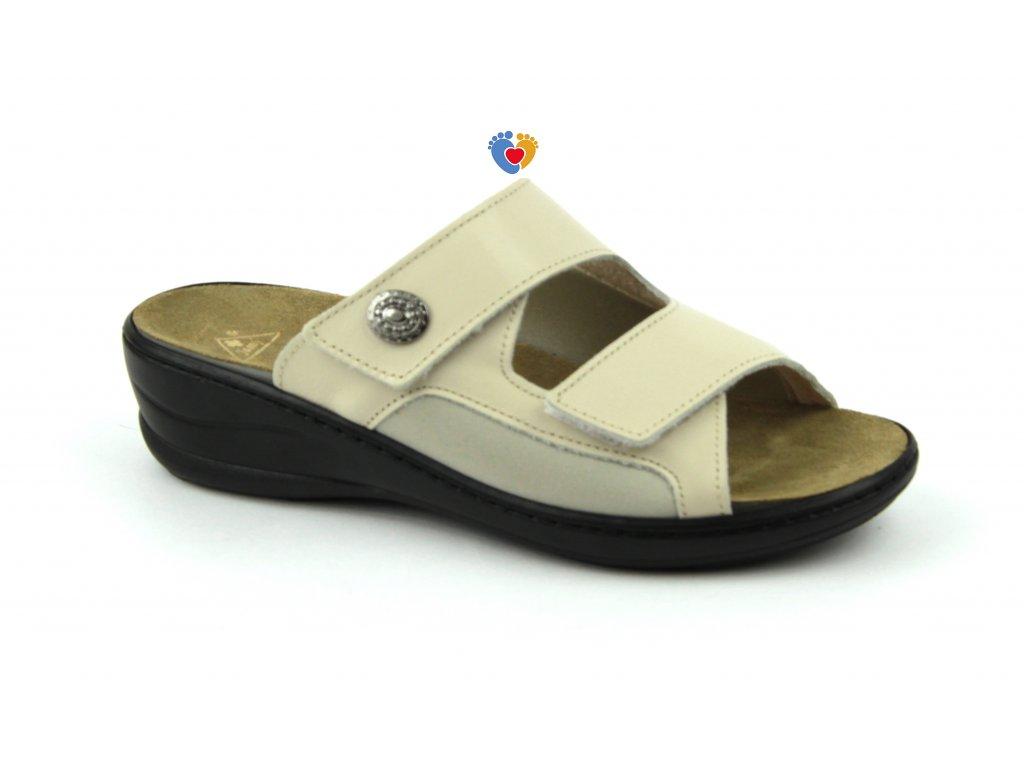 JASNY zdravotná obuv MC-HALLUX béžové