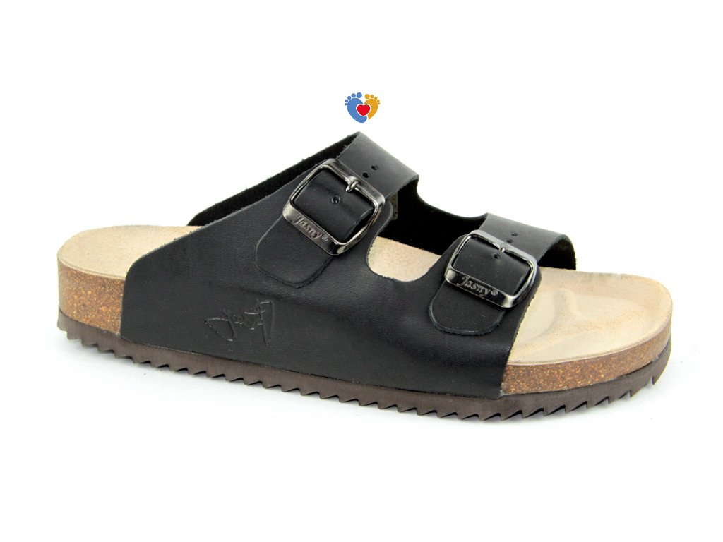 JASNY ortopedická obuv  EVOLUTION E2002/LUCCA čierna
