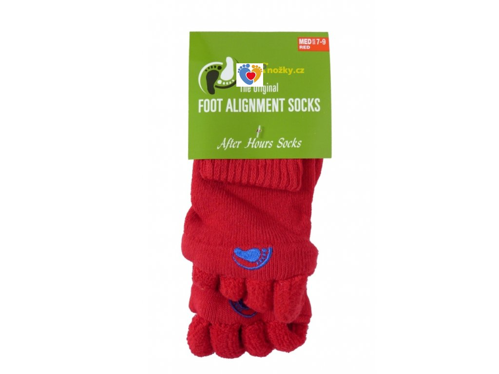 Adjustačné ponožky® RED  ortopedické ponožky