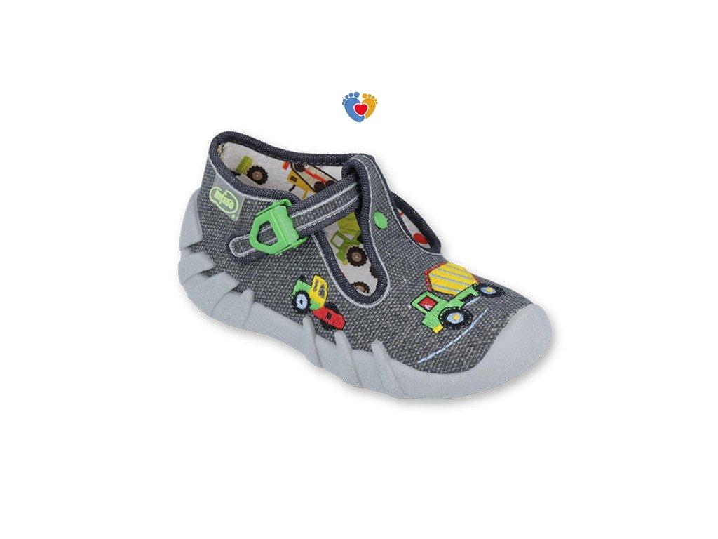 BEFADO detské papuče SPEEDY 110P357