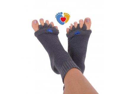 Adjustačné ponožky® CHARCOAL  ortopedické ponožky
