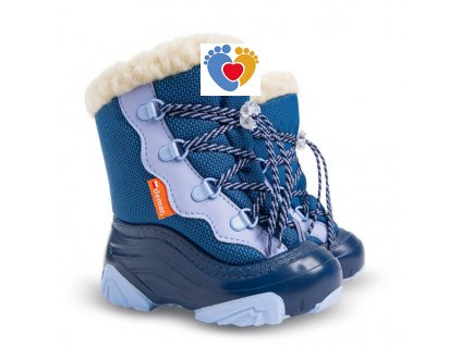 Detské zimné snehule DEMAR-SNOW MAR 2 NC 4017 blue