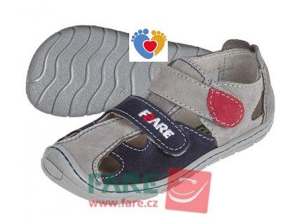 Detské barefoot sandále FARE BARE 5161261