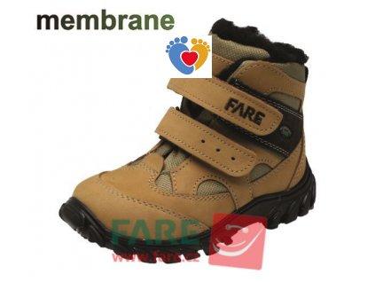 Detská zimná treková obuv FARE 846281