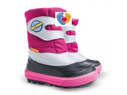 Detské zimné snehule BABY SPORTS 2 NA pink 1506