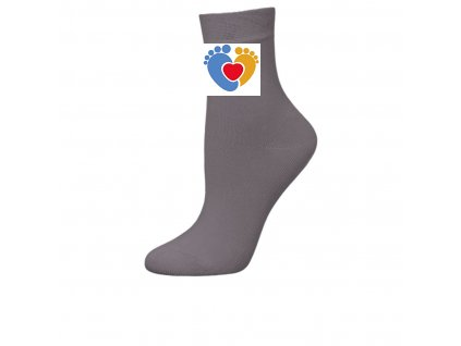 Detské zdravotné ponožky DEOMED KID šedé