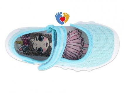 BEFADO dievčenské balerínky DREAMY HANIA 109P225
