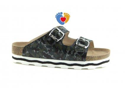 JASNY ortopedická obuv LUCCA SMART platforma army