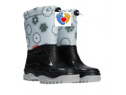 Detské snehule DEMAR-PICO E light grey 0377