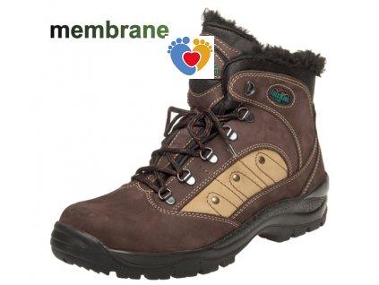 Pánska zimná treková obuv FARE 2203221