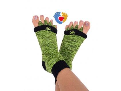 Adjustačné ponožky® GREEN  ortopedické ponožky
