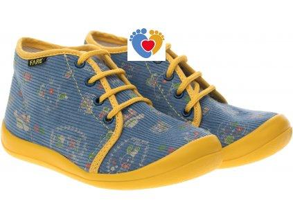 15ca598c8a27b Detské papuče FARE 4012408 - Centrum zdravých nôh