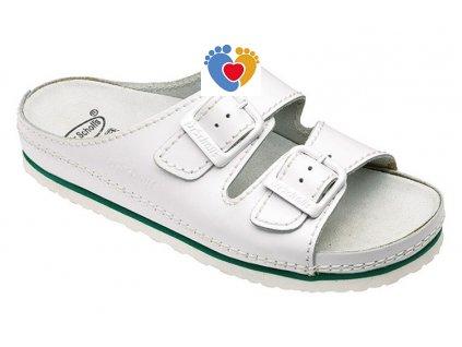 zdravotna obuv scholl air bag biela white 9